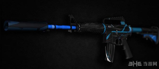 求生之路2蓝色魅影突击步枪MOD截图0