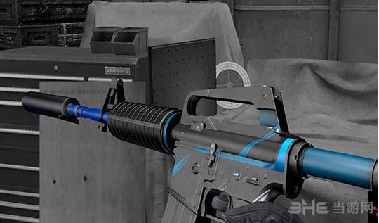 求生之路2蓝色魅影突击步枪MOD截图3