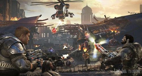 战争机器4画面截图1
