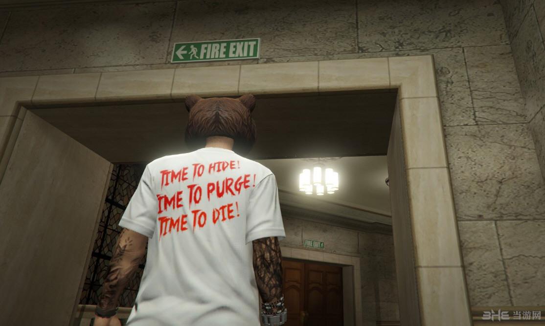 侠盗猎车手5人类清除计划衬衫包1.0MOD截图0