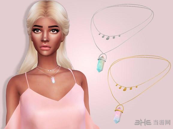 模拟人生4双色水晶项链MOD截图0