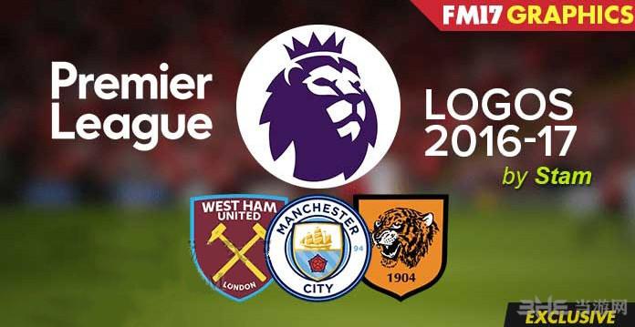 FM2017英超俱乐部16-17赛季队徽logo包截图0