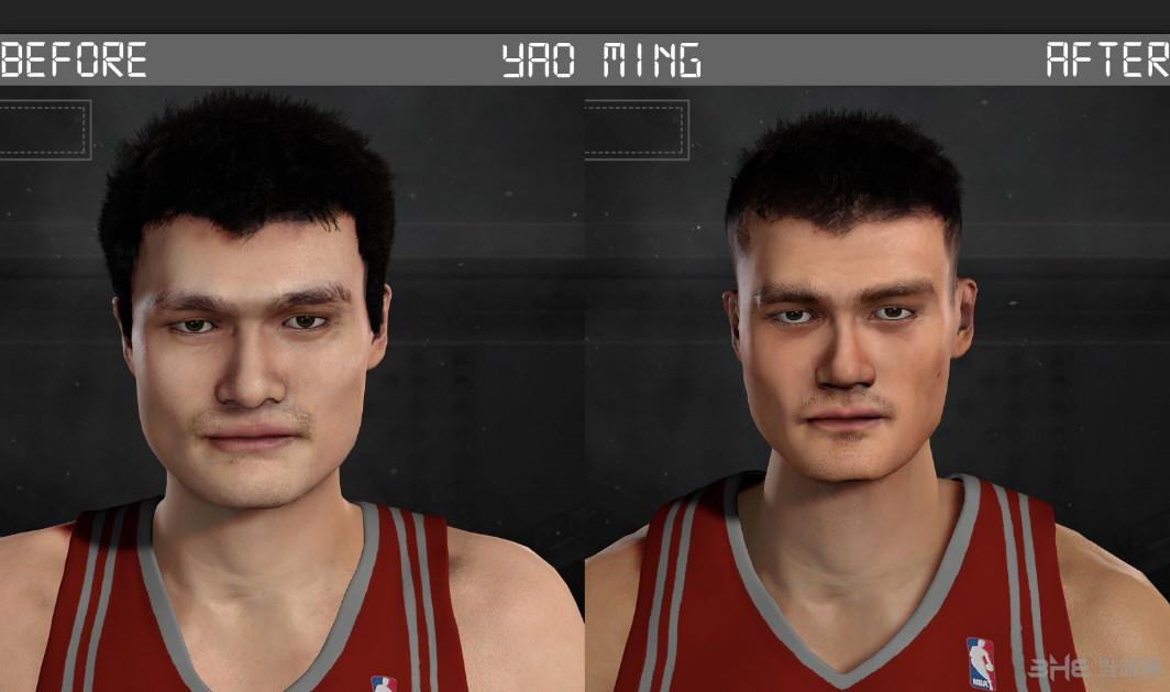 NBA 2K17姚明面补MOD截图0
