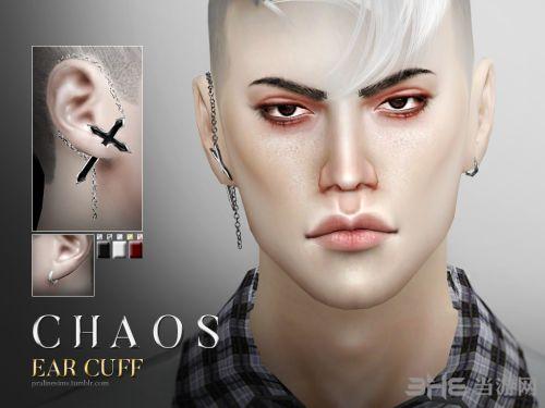 模拟人生4十字架男式耳环MOD截图0