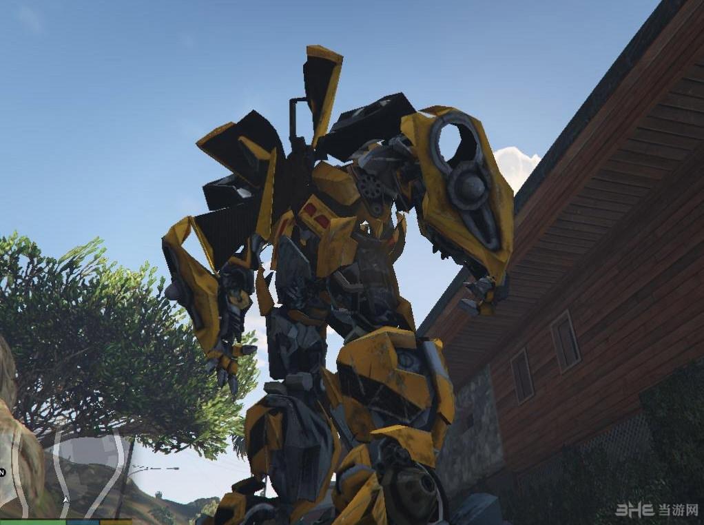 侠盗猎车手5变形金刚大黄蜂造型MOD截图1