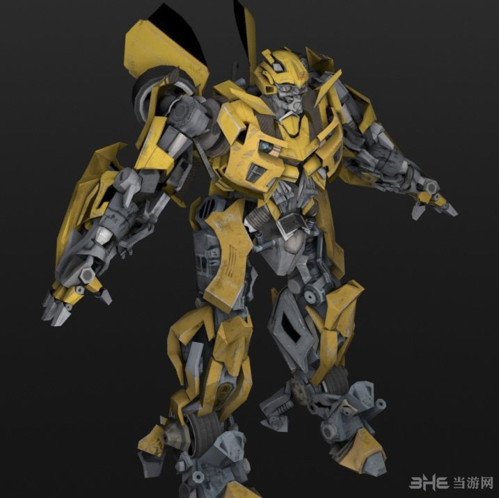 侠盗猎车手5变形金刚大黄蜂造型MOD截图4