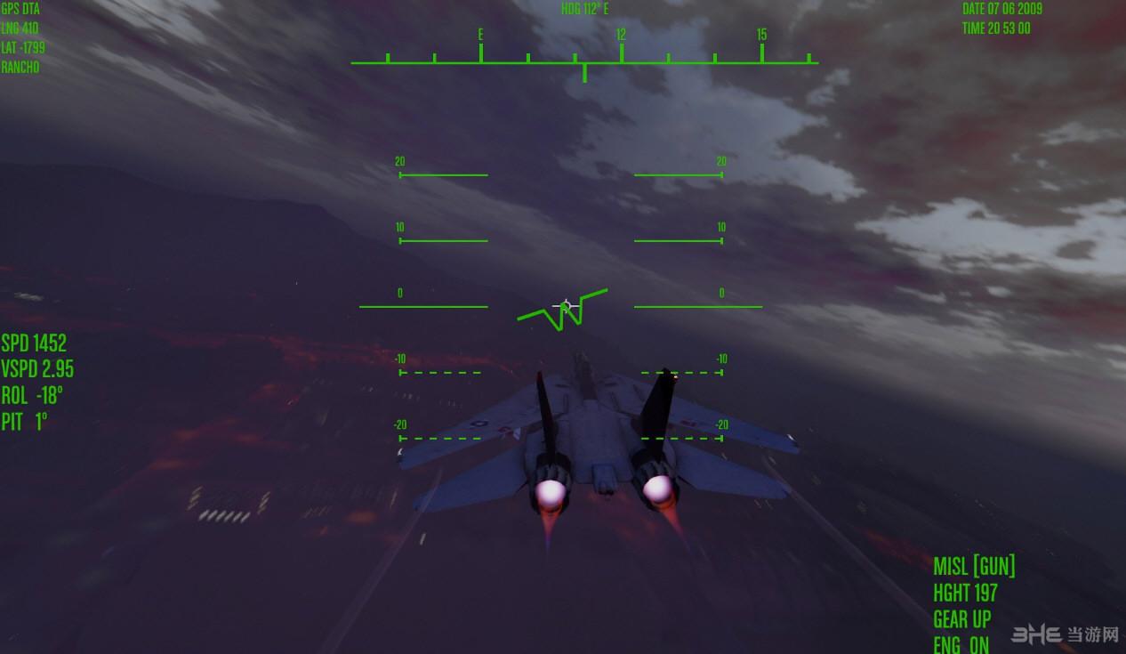 侠盗猎车手5喷射机监控界面MOD截图1