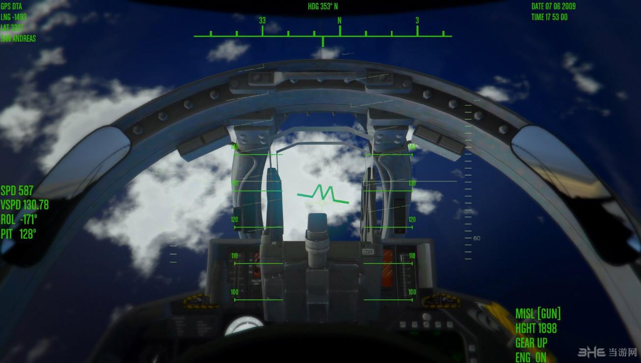 侠盗猎车手5喷射机监控界面MOD截图3