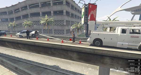 侠盗猎车手5交通事故现场MOD截图1
