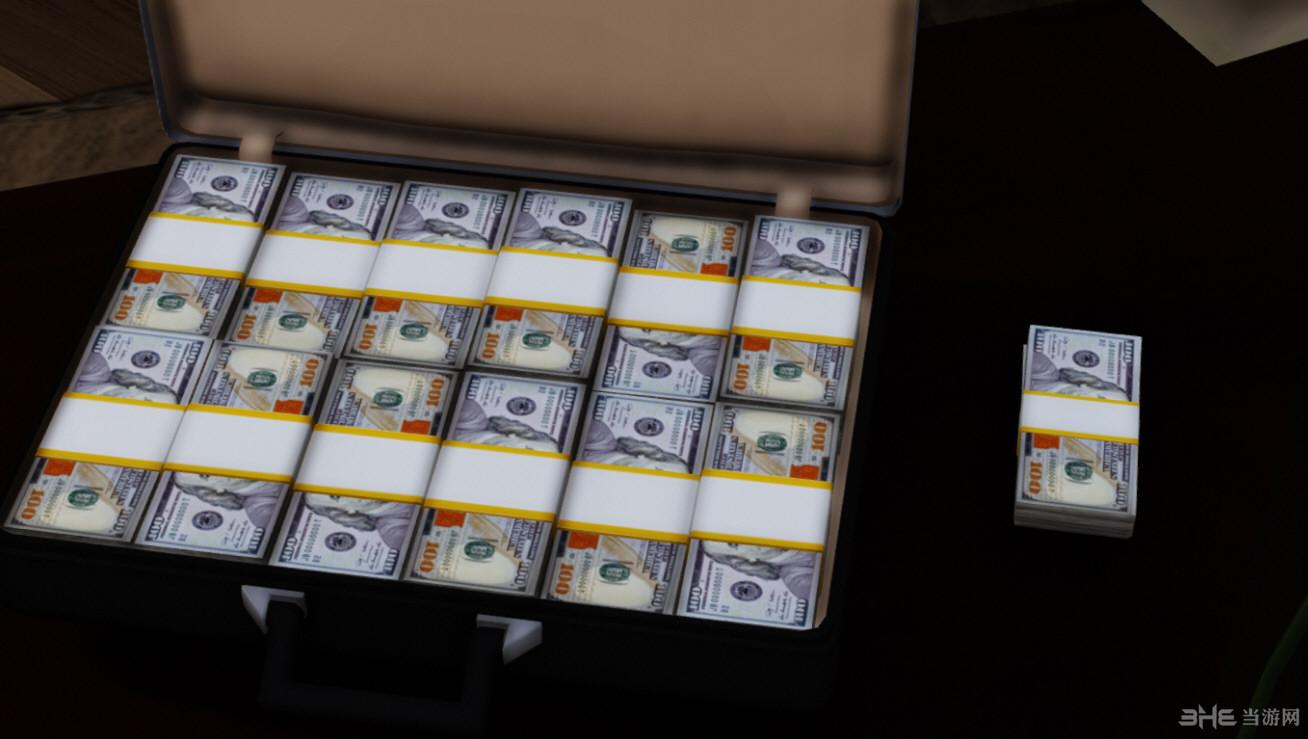 侠盗猎车手5高清材质美元MOD截图1