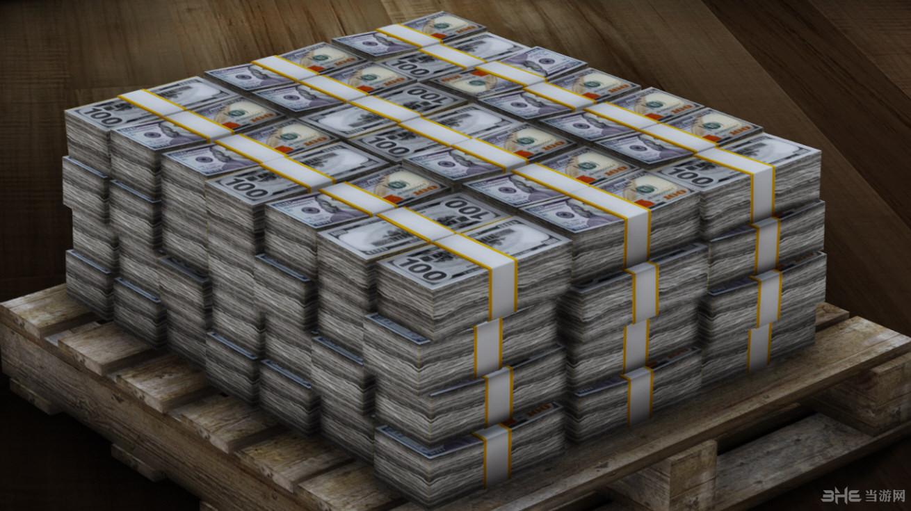侠盗猎车手5高清材质美元MOD截图3
