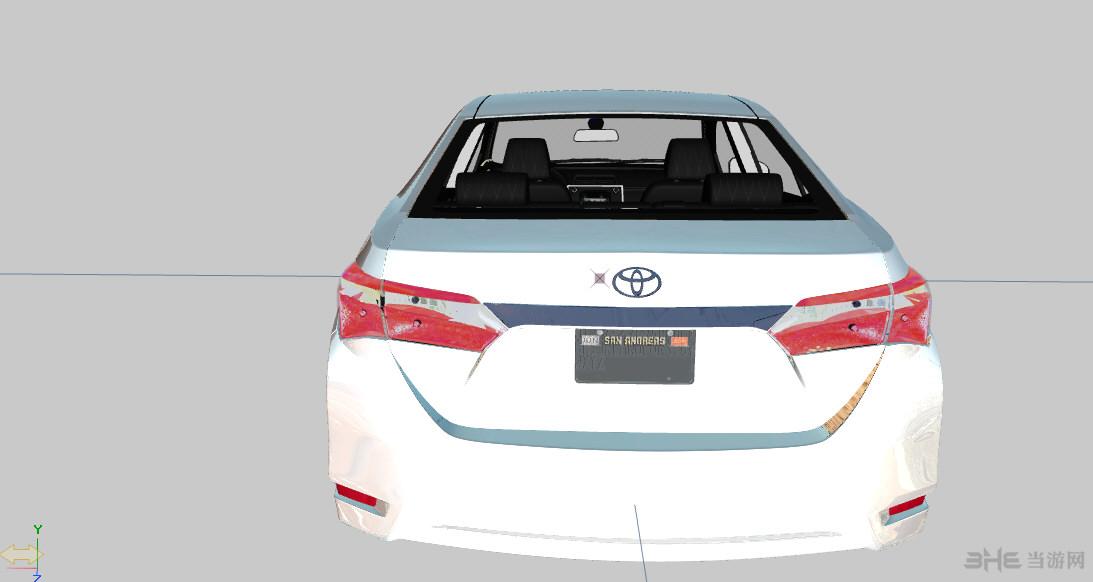 侠盗猎车手5丰田Corolla 2015版MOD截图1