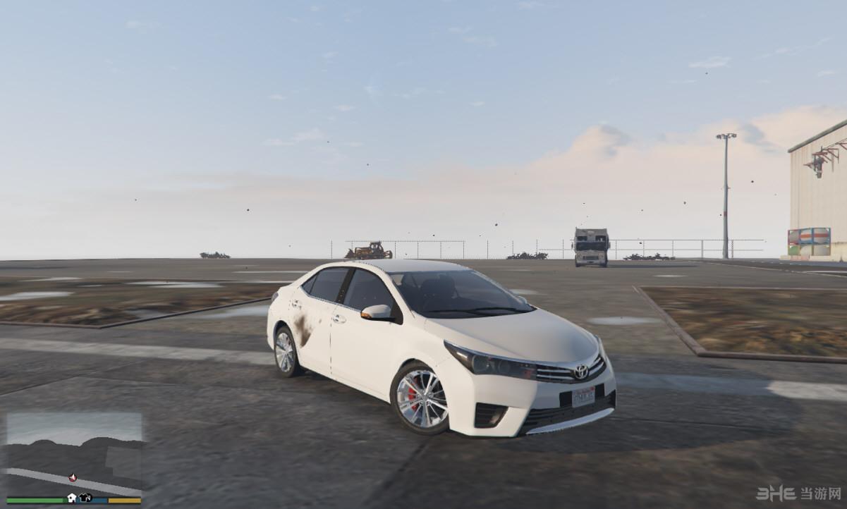 侠盗猎车手5丰田Corolla 2015版MOD截图2
