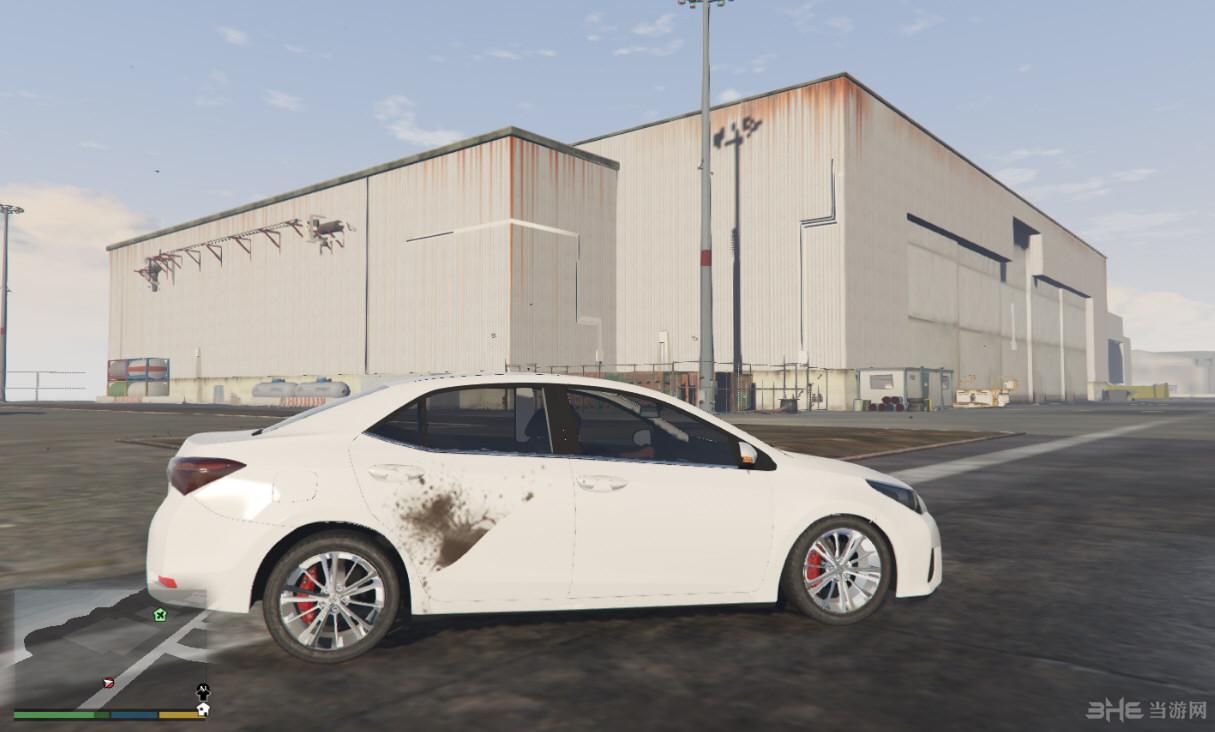 侠盗猎车手5丰田Corolla 2015版MOD截图3