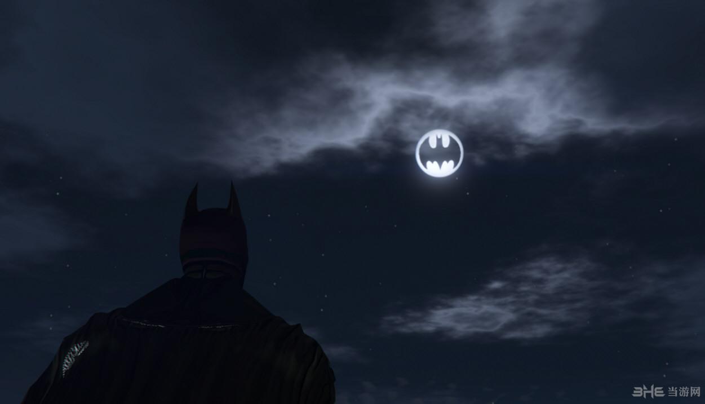侠盗猎车手5蝙蝠侠标志月亮MOD截图0