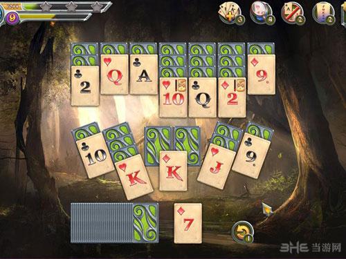 神秘之旅:Tripeak纸牌截图0