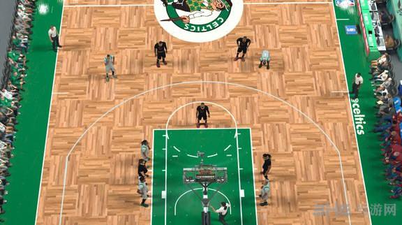 NBA2K17凯尔特人北岸花园主场美化补丁截图1