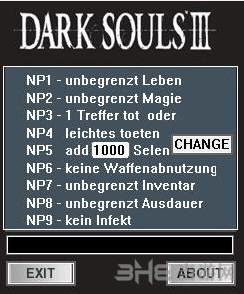 黑暗之魂3八项修改器截图0