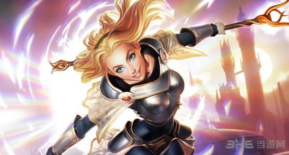我的世界英雄联盟光辉女郎-拉克丝皮肤截图0