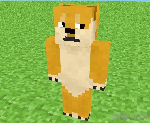 我的世界萌犬doge-柴犬皮肤截图1