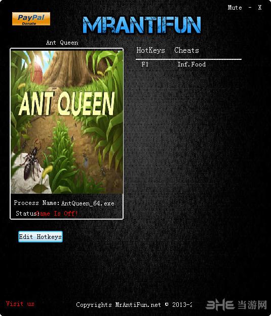 蚂蚁女王一项修改器截图0