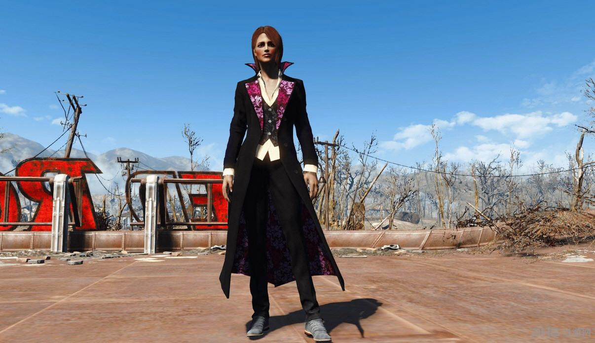 辐射4女猎手套装MOD截图1