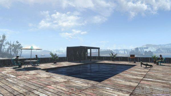 辐射4建造自己的泳池MOD截图0