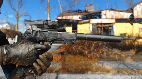 辐射4 OTs-33箭羽锤手枪MOD截图1