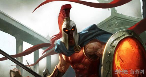我的世界英雄联盟战争之王-潘森皮肤截图0