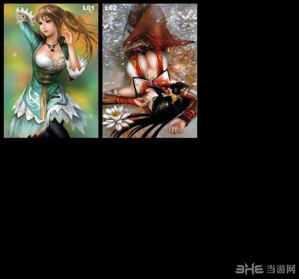 三国志13 BLAST无双画册高清重制版头像MOD截图2