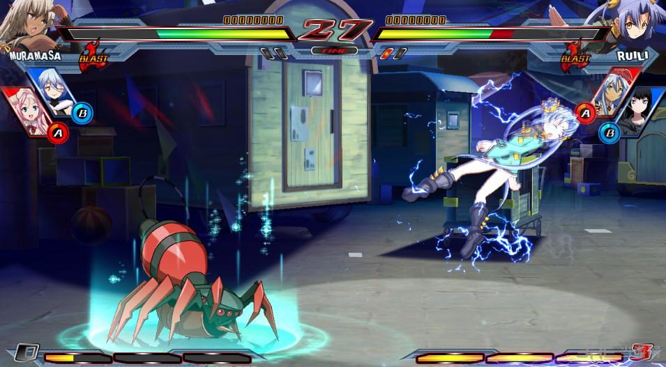 Nitro+爆裂:女主角大乱斗联机未加密补丁截图0