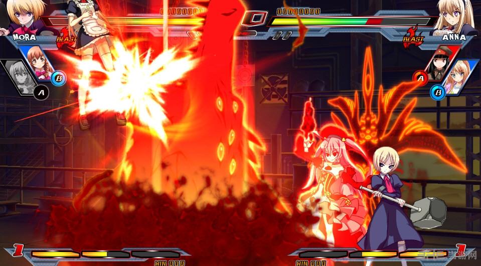 Nitro+爆裂:女主角大乱斗联机未加密补丁截图1