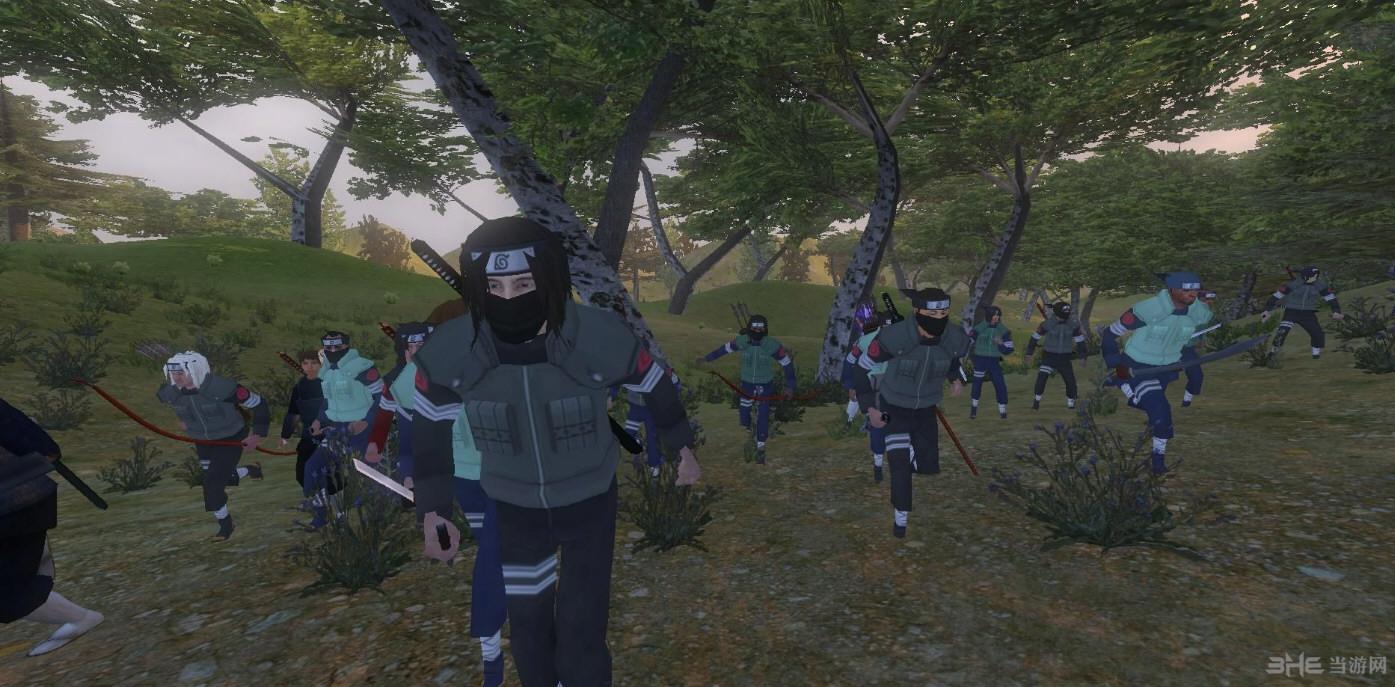 骑马与砍杀战团火影忍者疾风传MOD截图4