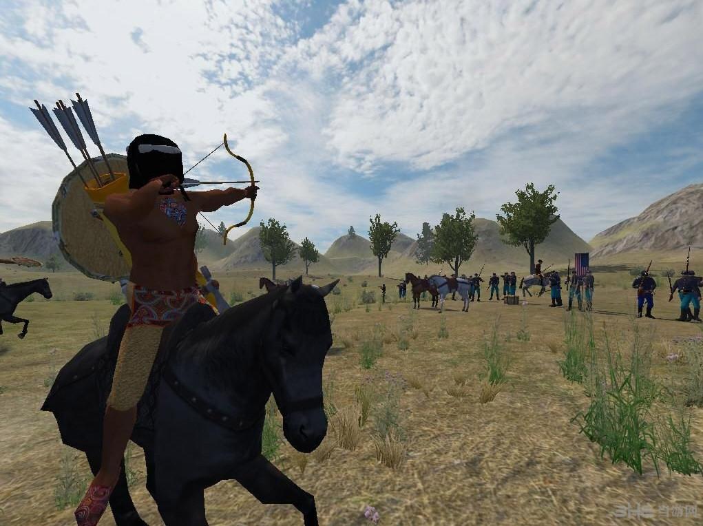 骑马与砍杀蓝与灰:纷乱的19世纪60年代MOD截图1