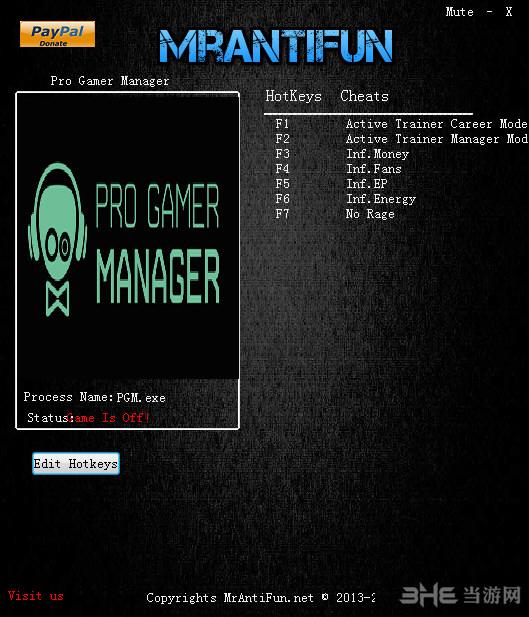 职业玩家经理五项修改器截图0
