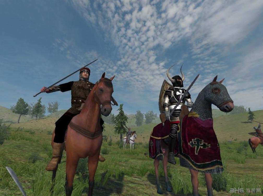 骑马与砍杀斯拉夫人东征东方苍狼mod截图0