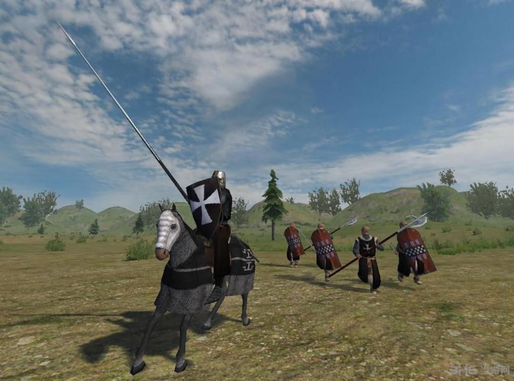 骑马与砍杀斯拉夫人东征东方苍狼mod截图1
