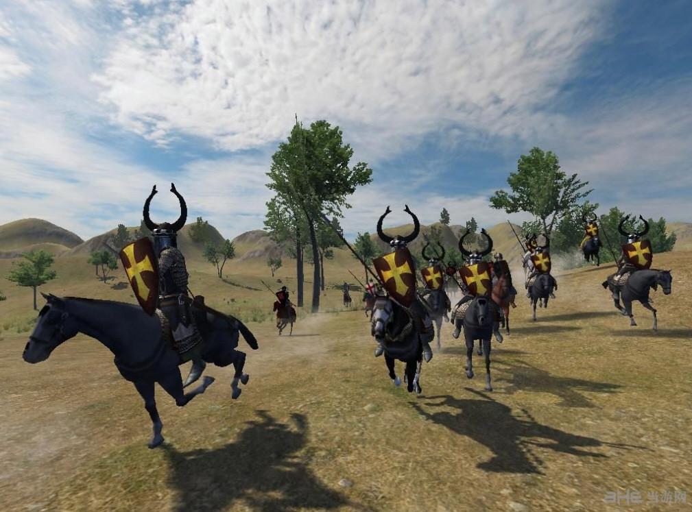 骑马与砍杀斯拉夫人东征东方苍狼mod截图2