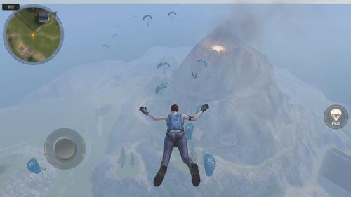 丛林法则大逃杀跳伞1