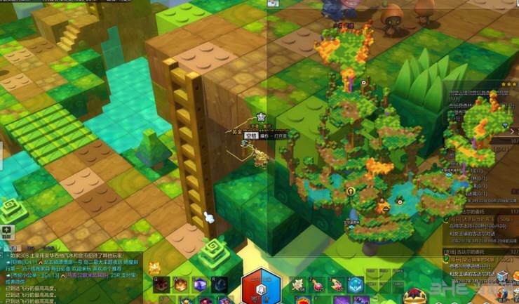 冒险岛2玩具森林金箱子位置 玩具森林黄金宝箱攻略