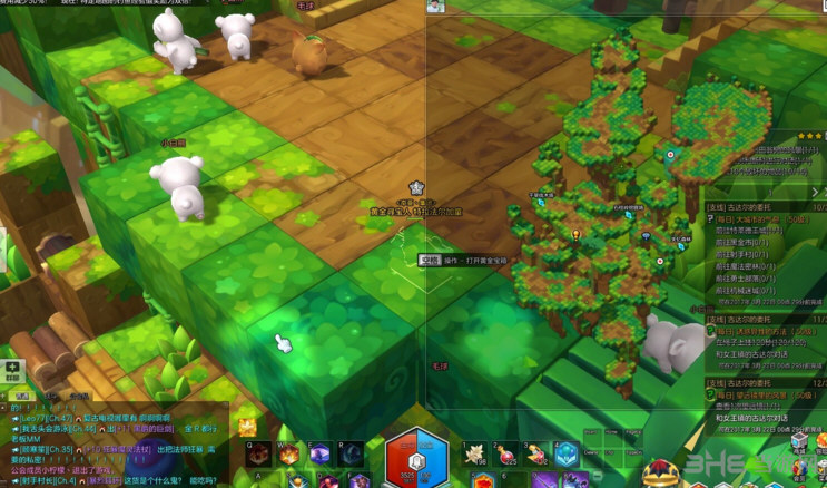冒险岛2巴翁树金箱子位置 巴翁树黄金宝箱攻略