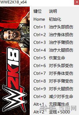 WWE 2K18修改器
