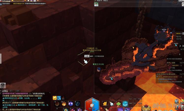 冒险岛2熔岩山金箱子位置 熔岩山黄金宝箱攻略