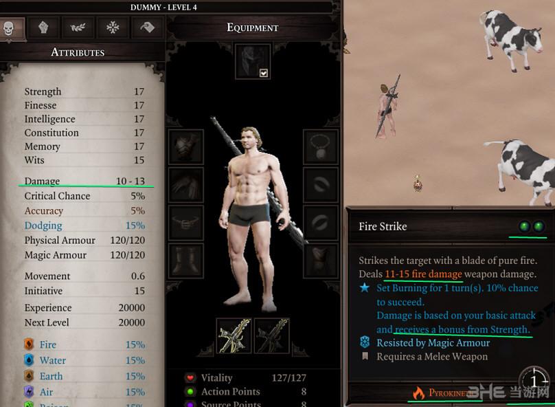 神界:原罪2 v3.0.146.969魔法剑技能MOD截图0
