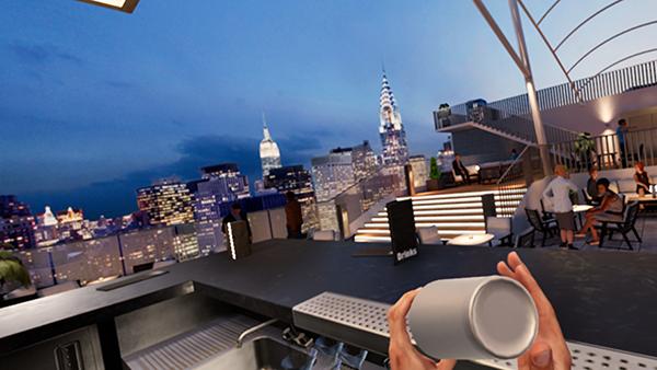 酒保VR模拟器截图