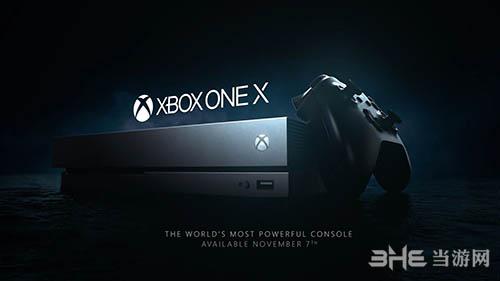 微软Xbox One X主机