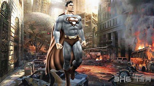 超人游戏概念图