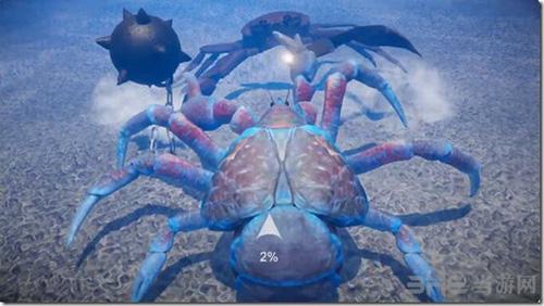 螃蟹大战图片