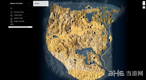 刺客信条起源地图全收集