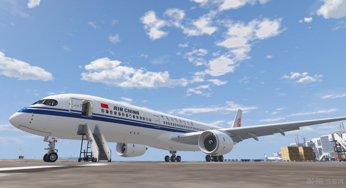 侠盗猎车手5国航a350国际航班涂装mod